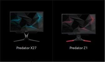 Acer Predator X27 i Z271UV – zaawansowane monitory dla gracza -