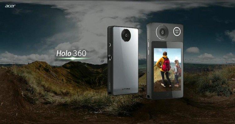 Acer Holo 360 to oryginalna kamerka z… funkcją smartfona -