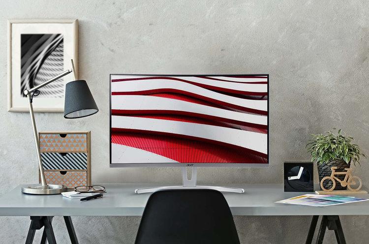 Acer ED273 Awidpx – tani monitor z zakrzywionym ekranem -